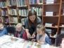 """,,Bitučių"""" grupės edukacinė kiaušinių marginimo pamokėlė vaikų bibliotekoje su kūrybingąja Kristina"""