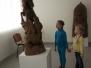 """,,Paukštelių"""" gr. išvyka į skulptoriaus Rimanto Zinkevičiaus darbų parodą Kultūros Centre"""