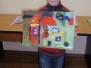 Piešinių konkurso priešgaisrine tema nugalėtojas Kostas